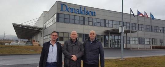 Семинар на Donaldson Torit DCE – Kadan/Чехия