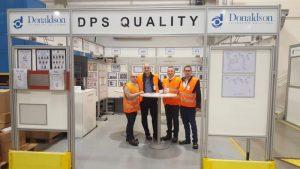 отдел Качество завод за патронни филтри Donaldson, Кадан,Чехия