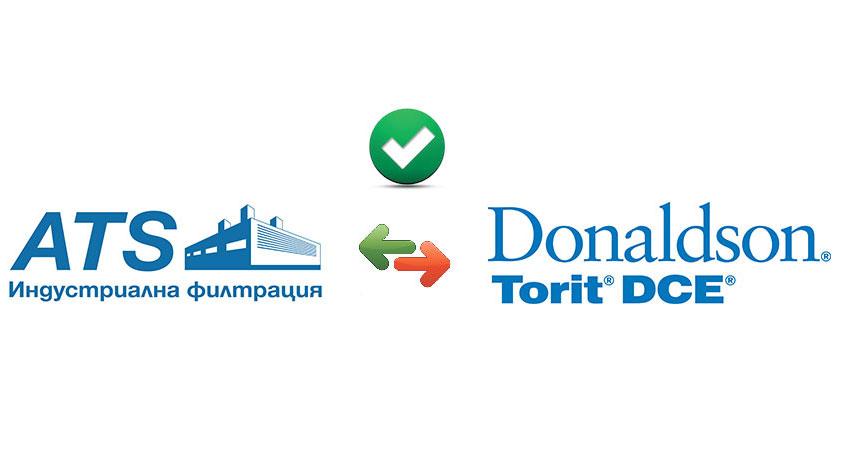ATS-IF logo, Donaldson Logo