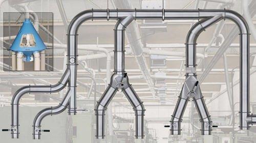 схема вентилационни тръби JACOBS